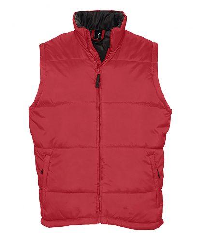 SOLS Warm Bodywarmer Red 5XL (44002 RED 5XL)