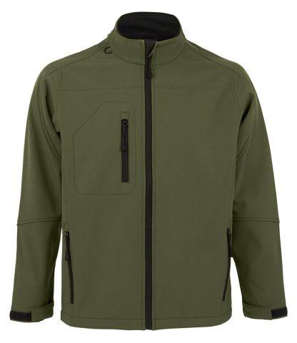 SOLS Relax Softshell Jacket Army 4XL (46600 ARM 4XL)