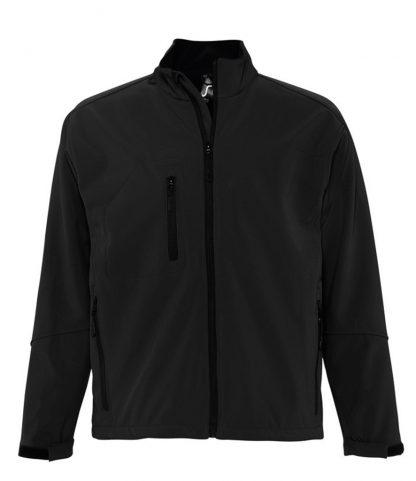 SOLS Relax Softshell Jacket Black 4XL (46600 BLK 4XL)