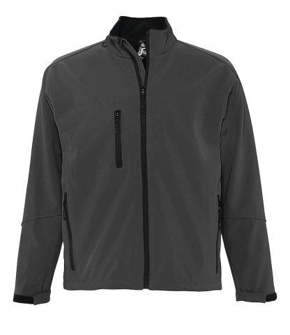 SOLS Relax Softshell Jacket Charcoal 4XL (46600 CHA 4XL)