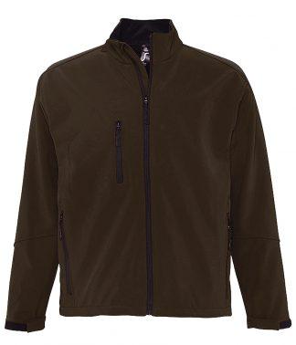 SOLS Relax Softshell Jacket Dark Chocolate 4XL (46600 DCH 4XL)