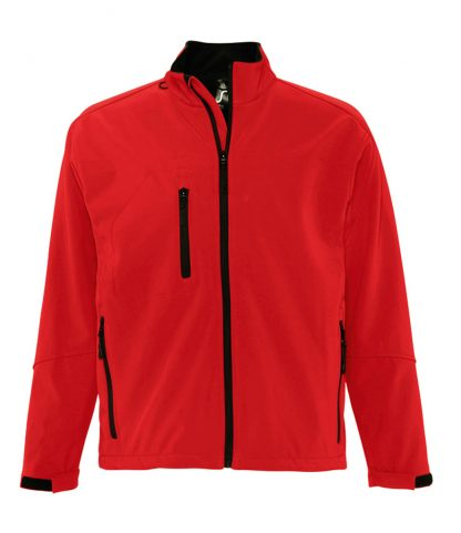 SOLS Relax Softshell Jacket Red 4XL (46600 RED 4XL)