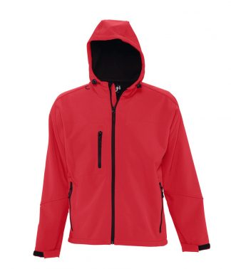 SOLS Replay Hooded Softshell Pepper red 3XL (46602 PER 3XL)