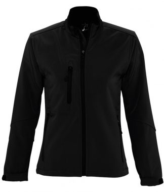 SOLS Lds Roxy Softshell Jacket Black XXL (46800 BLK XXL)