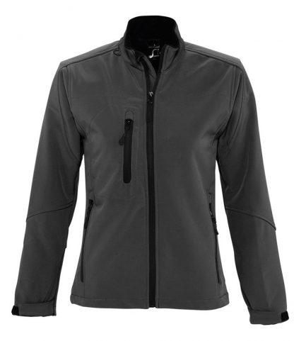 SOLS Lds Roxy Softshell Jacket Charcoal XXL (46800 CHA XXL)