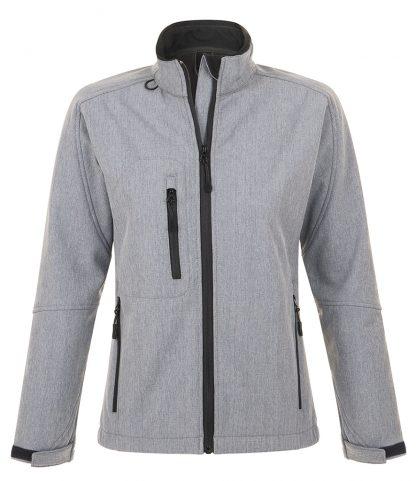 SOLS Lds Roxy Softshell Jacket Grey marl XXL (46800 GYM XXL)