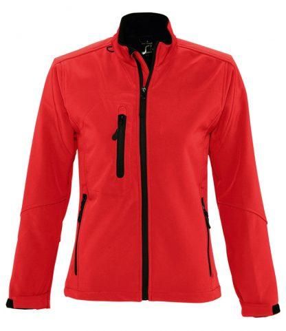 SOLS Lds Roxy Softshell Jacket Red XXL (46800 RED XXL)
