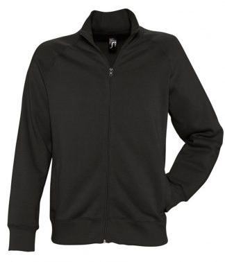 SOLS Sundae Sweat Jacket Black XXL (47200 BLK XXL)