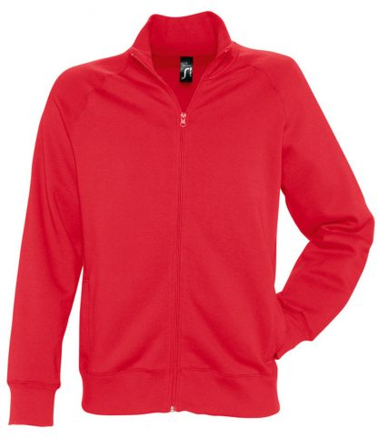 SOLS Sundae Sweat Jacket Red XXL (47200 RED XXL)