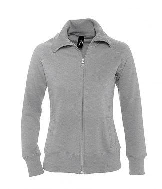 SOLS Lds Soda Sweat Jacket Dp Grey Marl XXL (47400 DEG XXL)