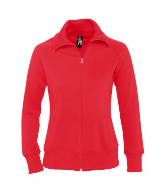 SOLS Lds Soda Sweat Jacket Red XXL (47400 RED XXL)