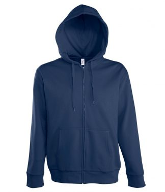 SOLS Seven Hooded Jacket French navy 3XL (47800 FNA 3XL)