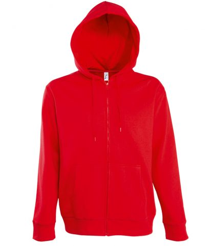 SOLS Seven Hooded Jacket Red 3XL (47800 RED 3XL)