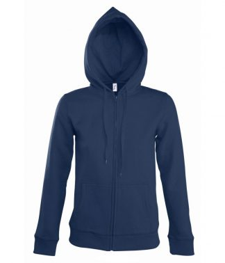 SOLS Lds Seven Hooded Jacket French navy XL (47900 FNA XL)