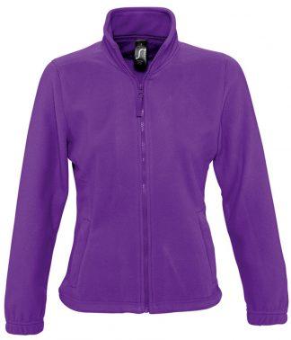 SOLS Lds North Fleece Jkt Dark purple XXL (54500 DKP XXL)