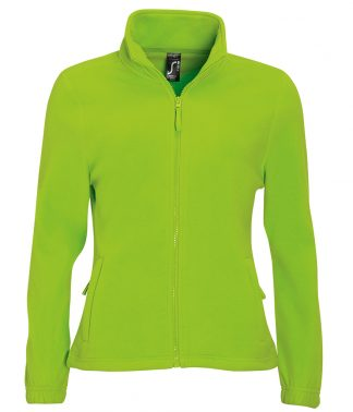 SOLS Lds North Fleece Jkt Lime XXL (54500 LIM XXL)