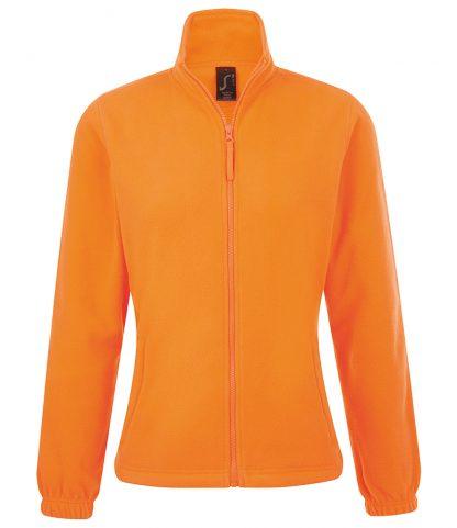 SOLS Lds North Fleece Jkt Neon orange XXL (54500 NOR XXL)