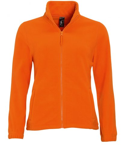 SOLS Lds North Fleece Jkt Orange XXL (54500 ORA XXL)