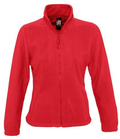 SOLS Lds North Fleece Jkt Red XXL (54500 RED XXL)