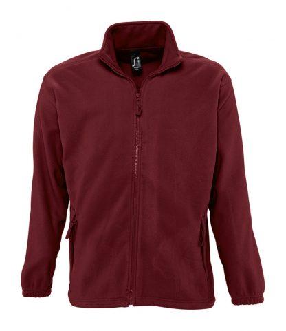 SOLS North Fleece Jacket Burgundy 5XL (55000 BUR 5XL)