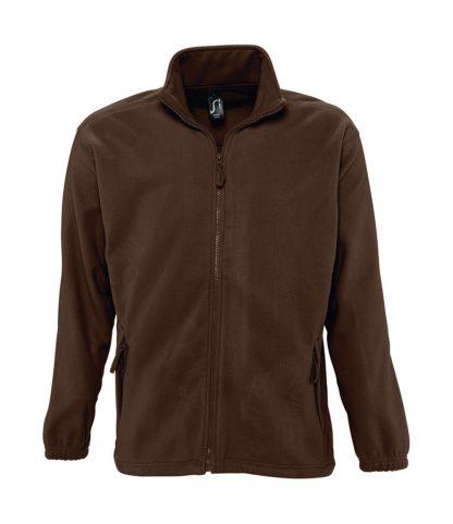 SOLS North Fleece Jacket Dark Chocolate 5XL (55000 DCH 5XL)