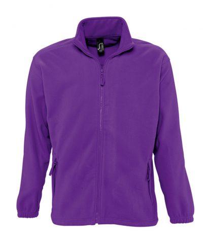 SOLS North Fleece Jacket Dark purple 5XL (55000 DKP 5XL)