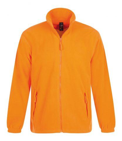 SOLS North Fleece Jacket Neon orange 5XL (55000 NOR 5XL)