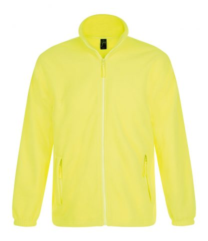 SOLS North Fleece Jacket Neon Yellow 5XL (55000 NYL 5XL)