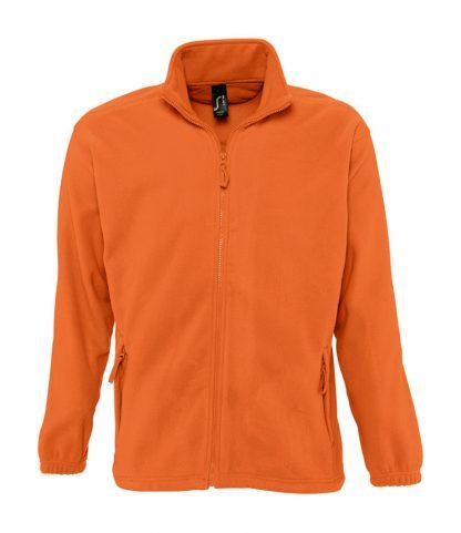 SOLS North Fleece Jacket Orange 5XL (55000 ORA 5XL)