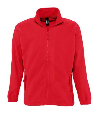 SOLS North Fleece Jacket Red 5XL (55000 RED 5XL)