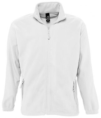 SOLS North Fleece Jacket White 5XL (55000 WHI 5XL)
