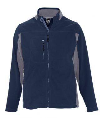 SOLS Nordic Fleece Jacket Navy/grey XXL (55500 NV/GY XXL)