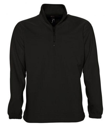 SOLS Ness Zip Nk Fleece Black 5XL (56000 BLK 5XL)