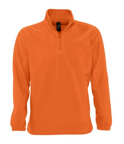 SOLS Ness Zip Nk Fleece Orange 3XL (56000 ORA 3XL)