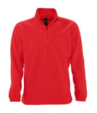 SOLS Ness Zip Nk Fleece Red 3XL (56000 RED 3XL)
