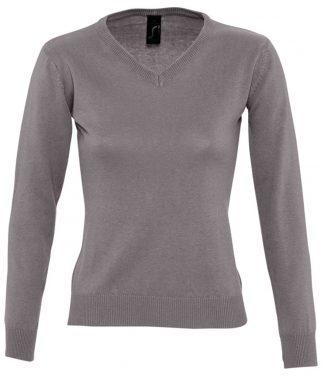 SOLS Lds Galaxy V Sweater Grey XXL (90010 GRE XXL)
