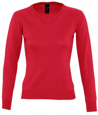 SOLS Lds Galaxy V Sweater Red XXL (90010 RED XXL)