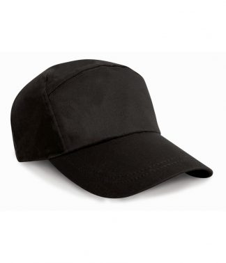 Result 7 Panel Advert. Cap Black ONE (RC002 BLK ONE)