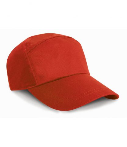Result 7 Panel Advert. Cap Red ONE (RC002 RED ONE)