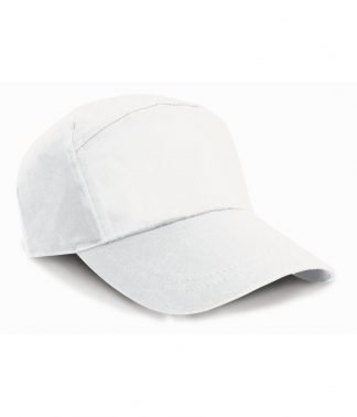 Result 7 Panel Advert. Cap White ONE (RC002 WHI ONE)