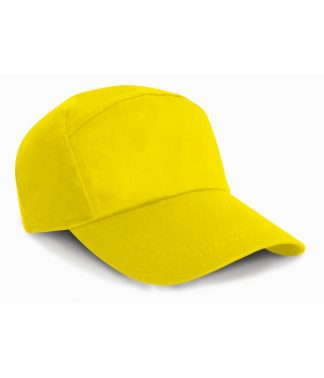 Result 7 Panel Advert. Cap Yellow ONE (RC002 YEL ONE)