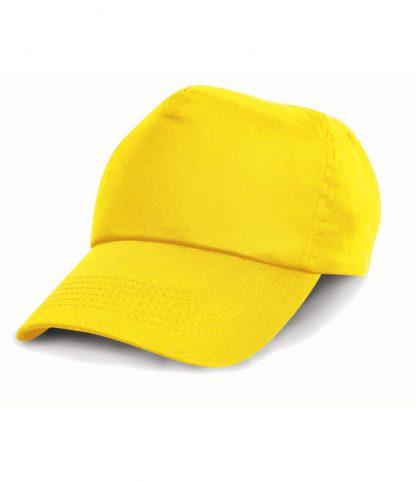 Result Classic 5 Panel Cap Yellow REG (RC005 YEL REG)