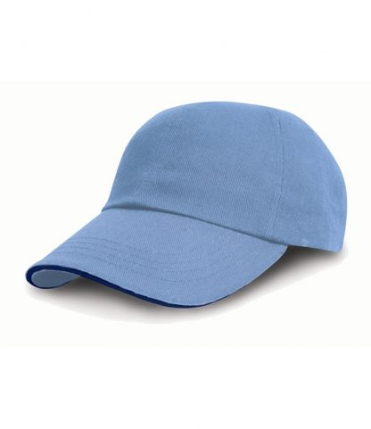 Result Heavy Pro-Style Cap Sky blue ONE (RC010P SKY ONE)