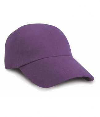 Result Heavy Brushed Cap Purple ONE (RC024 PUR ONE)