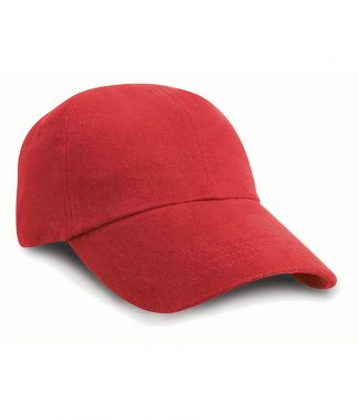 Result Heavy Brushed Cap Red ONE (RC024 RED ONE)