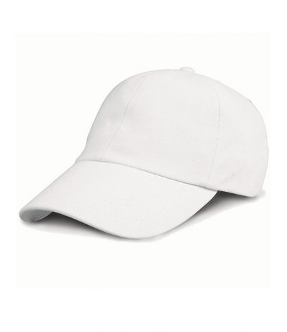 Result Heavy Brushed Cap White ONE (RC024 WHI ONE)