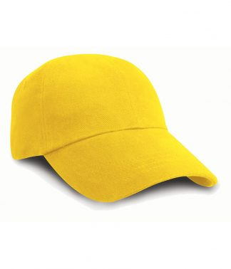 Result Heavy Brushed Cap Yellow ONE (RC024 YEL ONE)