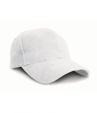 Result Pro-Style Hvy Brush. Cap White ONE (RC025 WHI ONE)