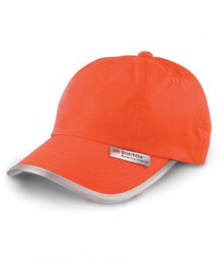 Result High-Viz Cap Fl. orange ONE (RC035 FLO ONE)