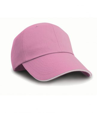Result Herringbone Cap Pink/white ONE (RC038 PI/WH ONE)
